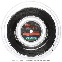 ヨネックス(YONEX) ポリツアータフ(Poly Tour TOUGH) ブラック 1.25mm 200mロール ポリエステルストリングス