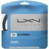 ルキシロン(LUXILON) アルパワー 1.25mm (ALU POWER) BIG BANGER ポリエステルストリングス グレー テニス ガット パッケージ品