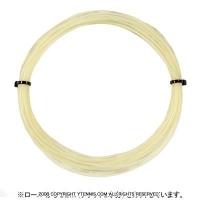 【12mカット品】ウイルソン(WILSON) NXT パワー 16 (NXT POWER 16) ナチュラルカラー 1.30mm ナイロンストリングス テニス ガット ノンパッケージ