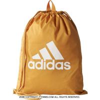 アディダス(adidas) ビッグロゴ ジムバッグ タクティルイエロー ナップサック 巾着 シューズバッグ ランドリーバッグ