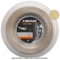 ヘッド(HEAD) リンクス ツアー(LYNX TOUR) シャンパン 1.25mm/1.30mm 200mロール ポリエステルストリングス