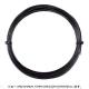 【12mカット品】ポリファイバー(Polyfibre) ブラックヴェノム(Black Venom) 1.30mm/1.25mm/1.20mm/1.15mm ポリエステルストリングス ブラック テニス ガット ノンパッケージ