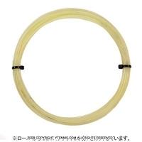 【12mカット品】ゴーセン(GOSEN) ポリロン(POLYLON) ナチュラル 1.24mm/1.29mm ポリエステルストリングス テニス ガット ノンパッケージ