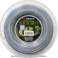 ソリンコ(SOLINCO) ツアーバイト(Tour Bite) 1.30mm/1.25mm/1.20mm/1.15mm 200mロール ポリエステルストリングス グレー