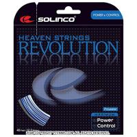 【在庫処分特価】ソリンコ(SOLINCO) レボリュ—ション(Revolution) ブルー 1.15mm/1.30mm ポリエステルストリングス テニス ガット パッケージ品
