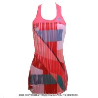 アディダス(adidas) 2016年 アナ・イバノビッチ着用モデル アディゼロ ウーマン テニスドレス ルージュショック/ヴェールショック ドレス レディース