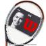 【錦織圭愛用シリーズ】ウイルソン(Wilson) 2020年 バーン100 V4.0 16x19 (BURN 100 V4.0) WR044710U (300g)の画像4