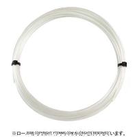 【12mカット品】シグナムプロ(SIGNUM PRO) プラズマ ピュア(Plasma Pure) 1.33mm/1.28mm/1.23mm/1.18mm ポリエステルストリングス ホワイト テニス ガット ノンパッケージ