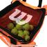 ウイルソン(Wilson) テニスボール 収納バッグ 150球収納可能 オレンジの画像3
