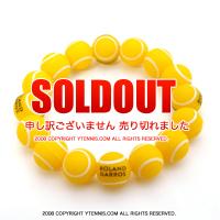 セール品 フレンチオープンテニス ローランギャロス オフィシャル商品 ボール ブレスレット