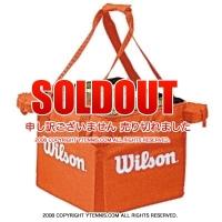 ウイルソン(Wilson) テニスボール 収納バッグ 150球収納可能 オレンジ