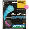 ヨネックス(YONEX) ポリツアースピン(Poly Tour Spin) 1.25mm ピンク パッケージ品 テニス ガット