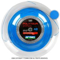 ヨネックス(YONEX) ポリツアープロ(Poly Tour Pro) ブルー 1.15mm/1.20mm/1.25mm/1.30mm 200mロール ポリエステルストリングス