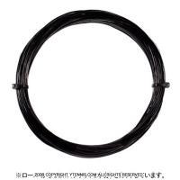 【12mカット品】ヨネックス(YONEX) レクシス(REXIS) 1.30mm/1.25mm ナイロンストリングス 大坂なおみ使用モデル ブラック テニス ガット ノンパッケージ