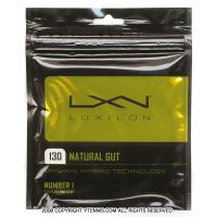 ルキシロン(LUXILON) ナチュラルガット 1.30mm/16G (NATURAL 16) テニスガット パッケージ品