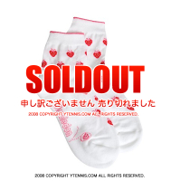 【ガールズサイズ】Wimbledon(ウィンブルドン) オフィシャル商品 ストロベリー柄ガールズソックス ホワイト/ピンク/レッド 全英オープンテニス 靴下 くつ下 くつした