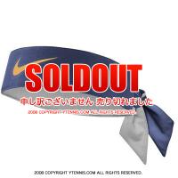 ナイキ(Nike)ドライフィット ヘッドタイ ロジャー・フェデラー USオープンシグネチャーモデル ネイビー/イエロー