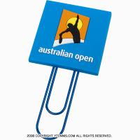 全豪オープンテニス オフィシャル商品 ブックマーククリップ オーストラリアンオープン