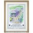激激レア!! 世界限定10枚 ウィンブルドンテニス 2008 フェデラー・ ナダル直筆サイン入り 高級額付ポスター 証明書付きの画像1