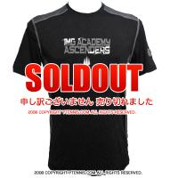 セール品 アンダーアーマー(UNDER ARMOUR)×IMG(ニック・ボロテリー テニスアカデミー) RAID IMGメンズ Tシャツ ヒートギア
