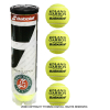 バボラ(BabolaT) フレンチオープンテニス ローランギャロス公式試合球 グランドスラム テニスボール 1本4球入 全仏オープン オールコート