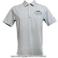 アンダーアーマー(UNDER ARMOUR)USオープンテニス オフィシャル商品 メンズ ポロシャツ グレー/ホワイト