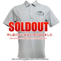 セール品 アンダーアーマー(UNDER ARMOUR)USオープンテニス オフィシャル商品 メンズ ポロシャツ グレー/ホワイト