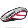 バボラ(Babolat) クラブラインテニスバッグ 3本用 ピンク