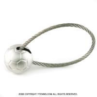 サッカーボールキーホルダー