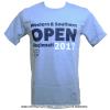 2017年ATPツアー ウェスタンアンドサザンオープン シンシナティ・マスターズ(Cincinnati Masters) オフィシャル Tシャツ ライトブルー
