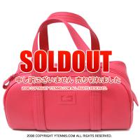 ラコステ(Lacoste) ミディアムボウリングバッグ ピンク 国内未発売