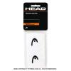 ヘッド(Head) 2.5インチ リストバンド ホワイト/ブラック