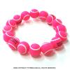フレンチオープンテニス ローランギャロス オフィシャル商品 ボール ブレスレット ローズ