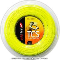 ポリファイバー(Polyfibre) TCS(TCS) 1.30mm/1.25mm/1.20mm/1.15mm 200mロール ポリエステルストリングス イエロー