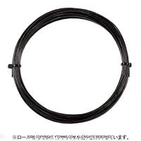 【12mカット品】ゴーセン(GOSEN) エッグパワー(EGGPOWER / SIDEWINDER) ブラック 1.22-1.24mm/1.30-1.32mm (海外名サイドワインダー) ポリエステルストリングス テニス ガット ノンパッケージ