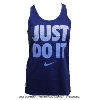 ナイキ(Nike) ドライフィット JDIタンクトップ ディープロイヤルブルー/チョークブルー