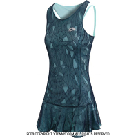 ロット(Lotto)トゥワイス II テニスドレス ターコイズ・ネイビー 国内未発売モデル リバーシブル