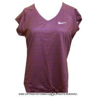 セール品 ナイキ(Nike) ピュア ショートスリーブトップ シャツ コズミックパープル