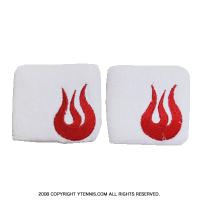 セール品 ソルファイアー(Solfire) 3 リストバンド ホワイト/レッド