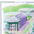 ウィンブルドン 2008 額付オフィシャルポスター 全英オープンテニスの画像3