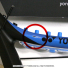 【新品アウトレット】【大坂なおみ使用モデル 軽量版】ヨネックス(YONEX) 2018年モデル Eゾーン 98 (285g) ブライトブルー (EZONE 98 Bright Blue)テニスラケットの画像1