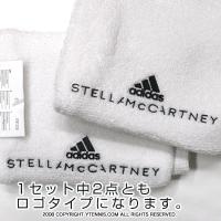 【新品アウトレット】アディダスbyステラマッカートニー(adidas Stella McCartney) リストバンド ホワイト
