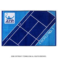 ATPツアー オフィシャルプレイヤーズタオル ブルー/スカイブルー