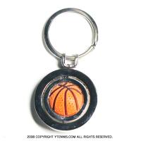 アウトレット★スポーツシリーズ:バスケットボール キーホルダー