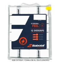 【ナダル使用モデル】バボラ(Babolat) VS グリップ ホワイト オーバーグリップ 12個セット
