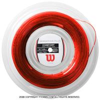 ウイルソン(WILSON) センセーション プラス(SENSATION PLUS) レッド 1.34mm/1.28mm 200mロール ナイロンストリングス