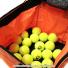 ウイルソン(Wilson) テニスボール 収納バッグ 150球収納可能 オレンジの画像2