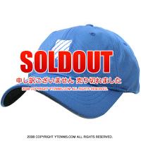ケースイス(K-SWISS) Bigshot テニスキャップ ブルー/ホワイト