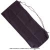 ノーブランド Yテニスショップ オリジナル テニスラケット/バドミントン兼用 無地ラケットケース ブラック ソフトケース 1本用 ネコポス1個まで可
