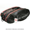 海外限定品 ウイルソン(Wilson) ツアー エクスクルーシブ テニスバッグ 15本用 ラケットバッグ ブラック/レッド